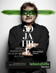 Erwin Steinhauer 50 Jahre gegen Barrieren