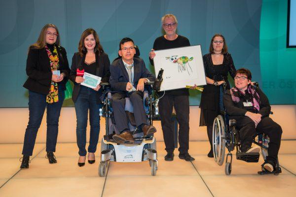 Preisträger Oberösterreich i+ die inklusive Museumslösung  prenn_punkt buero fuer kommunikation und gestaltung Jury: Hanna Kamrat