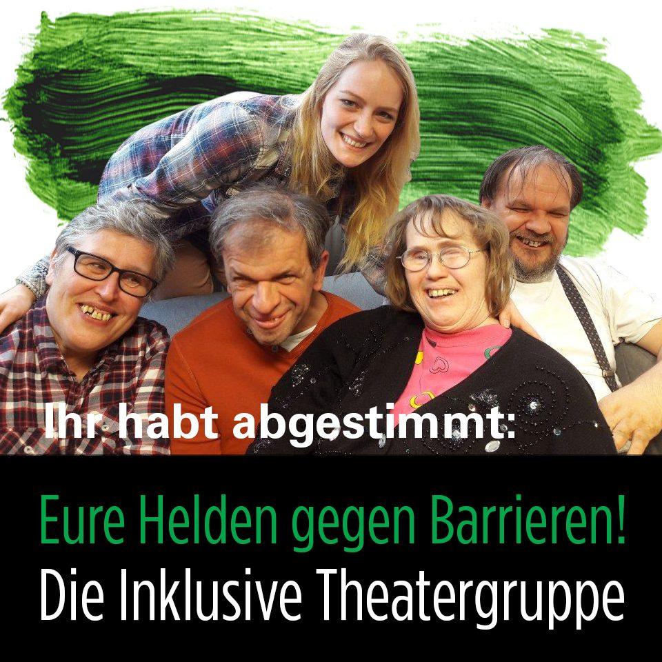 Abstimmung HeldInnen gegen Barrieren_Die Inklusive Theatergruppe