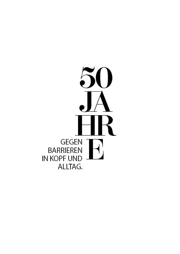 50 Jahre gegen Barrieren