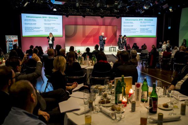 Inklusionspreis 2019 - Vorstellung der Ehrenliste