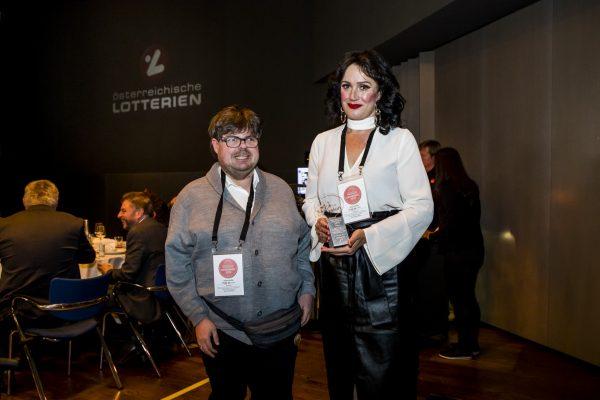 Preisträger Salzburg; Maco Buchinger und Manuela Glaser-Amlacher